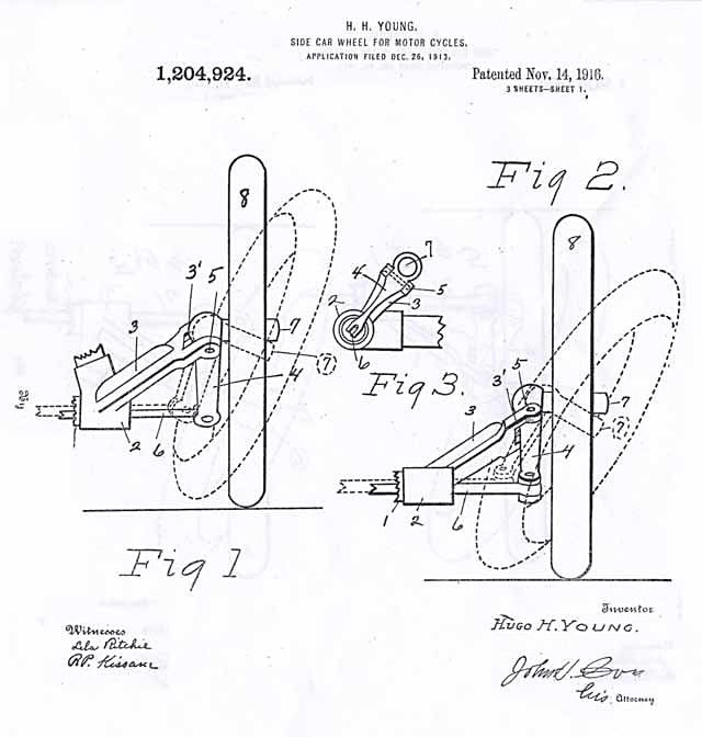 flxi sidecar patent